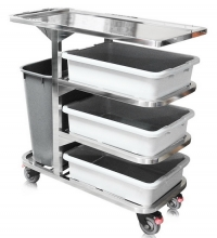 DT-199:รถเข็นเก็บจาน