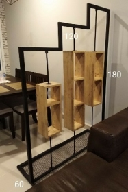 ET-85 :ฉากกั้นห้องไม้ 