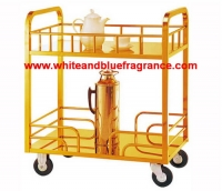 DT-20:รถเข็นเครื่องดื่มสีทอง 