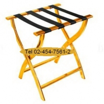 RS-15:แร็ควางกระเป๋าสแตนเลส สายพอลิเอ็ซเทอร์ 4 เส้น